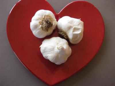 Garlic Heart